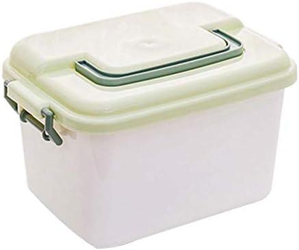 Büro Kunststoff Desktop Aufbewahrungsbox Schubladen Organizer, Grün