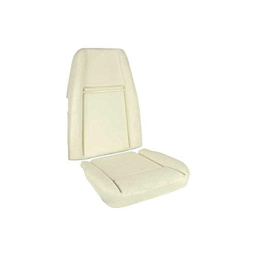 MACs Auto Parts 44-43364 - Mustang Mach 1 Hi-Back Bucket Seat Foam Set