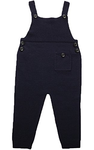 JELEUON Kids Baby Toddler Girl Knit Romper Cotton Jumpsuit Outfits3-4 Years ()