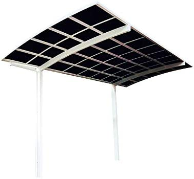 Amazon Com Litesort Metal Carport 10x20 Feet Rv Carport Shed Canopy Made By Aluminum Frame And Polycarbonate Roofing Garden Outdoor