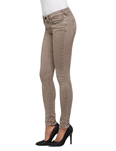 Jeans 60 Zip Donna Coin Replay Marrone Luz Skinny nut HIwgafOxq