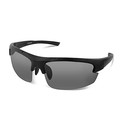 Gobike Newest Polarized Sunglasses with Fashion TR-90 Frosted Frame and TAC Lens for Men and Women