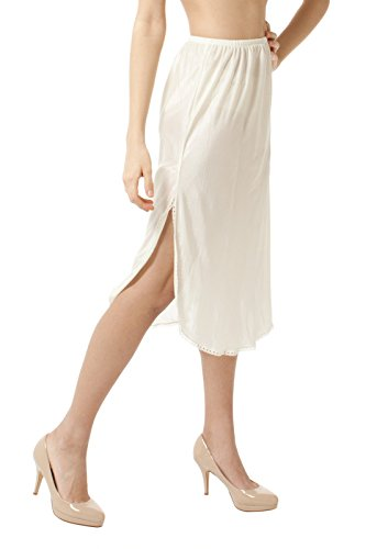 BellaSous Luxury Double Slit Half Slip Underskirt - 28