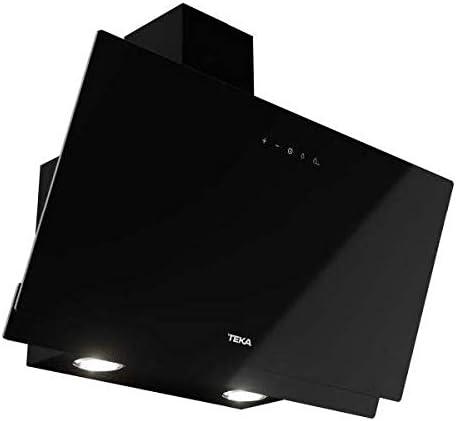 Teka | Campana decorativa vertical | Aspiración perimetral | DVN 64030 TTC | Cristal Negro | 60cm: Amazon.es: Grandes electrodomésticos