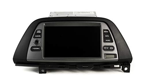 1 Factory Radio OEM 6 Disc CD Changer and Display Screen Compatible with 2005-10 Honda Odyssey 39100-SHJ-A912-M1