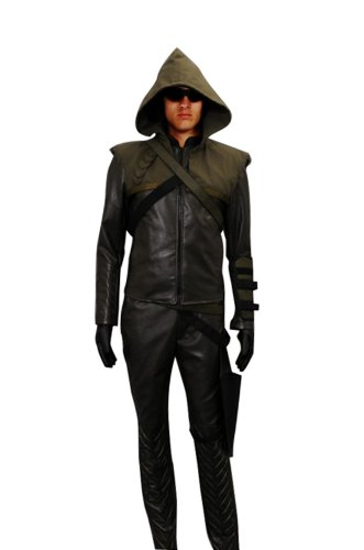 Kent Smallville Clark Costume (CosDaddy® Cosplay Costume Oliver Queen Green Arrow)