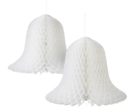 The Wedding Bell (Darice VL8143851F Bridal Tissue Paper Bell, 15-Inch, White,)