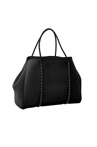 Handloom Large Neoprene Beach Tote Bag - Multipurpose with Matching Purse Inner Pocket by Handloom
