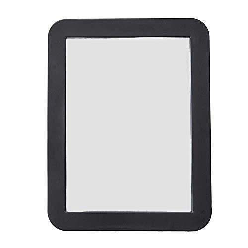 Katzco 5x7 Magnetic Mirror - Ideal for School Locker, Refrigerator, Home, Workshop Or Office Cabinet
