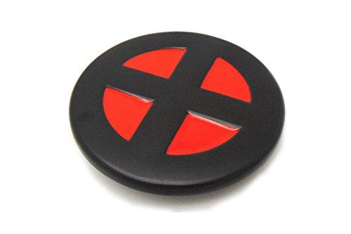 X Men Red Black Round Belt Buckle Xmen Logo X Import It All