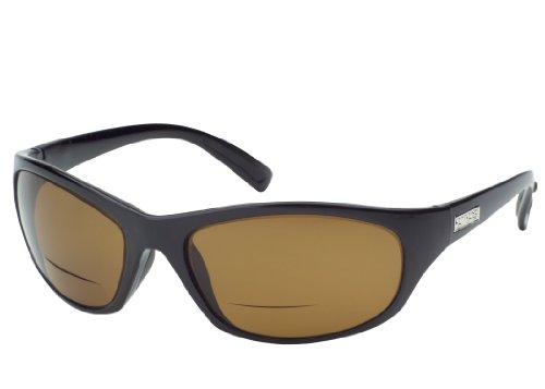 ONOS Carabelle Polarized Sunglasses (+2 Add Power), Black, - Onos Sunglasses