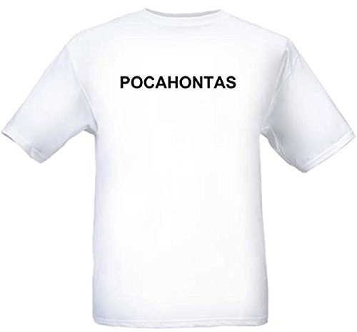 POCAHONTAS - City-series - White T-shirt - size XXL -