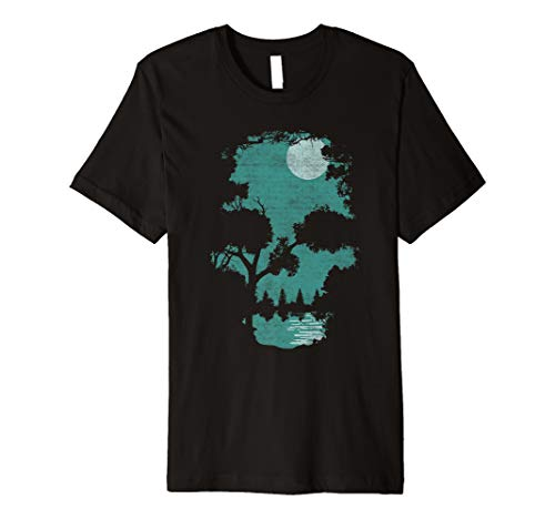 Wilderness Skull illusion shirt Premium - Skull Illusion