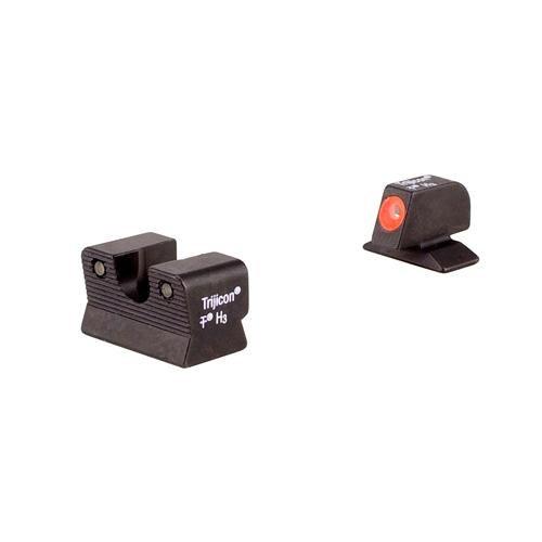 Beretta Rear Sight - Trijicon Beretta 92/96A1 HD Orange Front Outline Night Sight Set