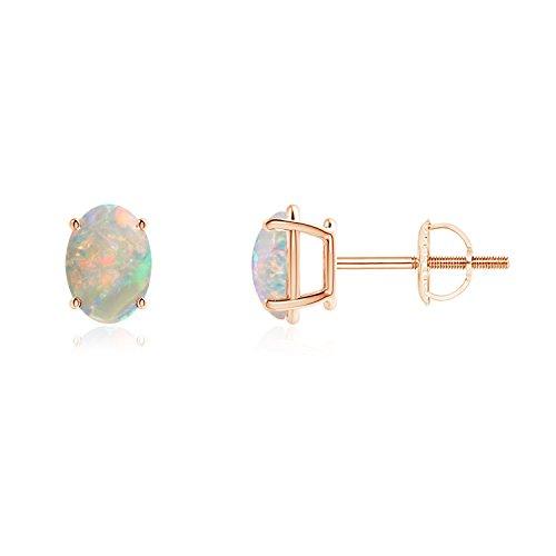 Cabochon Oval Earrings - 3