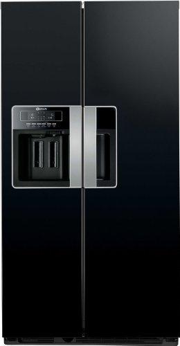Amerikanische kühlschränke schwarz  Bauknecht KSN 570 A+GS Side-by-Side / A+ / 325 L Kühlteil / 180 L ...