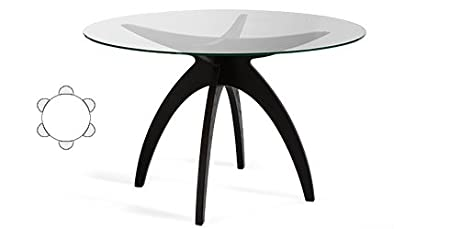 Boomerang Dining Table ROUND Wenge