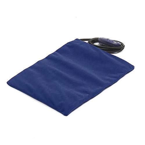 blue Kerlana Hoses & Accessories 30X40cm Electric Heater Heated Bed Mat Pad Blanket Cordless Pet Dog Cat Rabbit Brown (color   red, Size   )