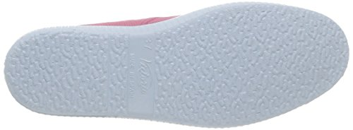 Victoria Inglesa Elastico Tenido Punt Damen Sneaker Pink (Frambuesa)