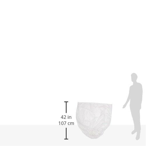 AmazonBasics 45 Gallon Recycling Trash Bag, 1.1 mil, Clear, 150-Count by AmazonBasics (Image #4)