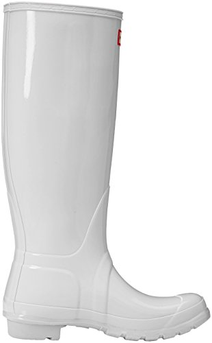 Orignal Bottes Gloss White Wellington Wht Blanc Tall Jaune Hunter Femmes pPdxZYqYw