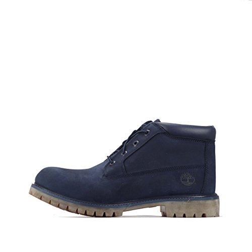 Timberland Timberland Nelson Premium Mens Chukka Boots, Stivali uomo blu Navy 45 EU
