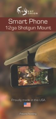 Shotgun-Camera-Phone-Mount-for-iPhone-Samsung-HTC-GoPro-Android-LG-Nexus-Motorola-and-more-from-Midwest-Orion