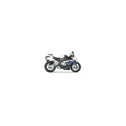 (Akrapovic 12-16 Kawasaki EX650E Racing Full System Exhaust (Homologated/Titanium with Carbon Fiber)