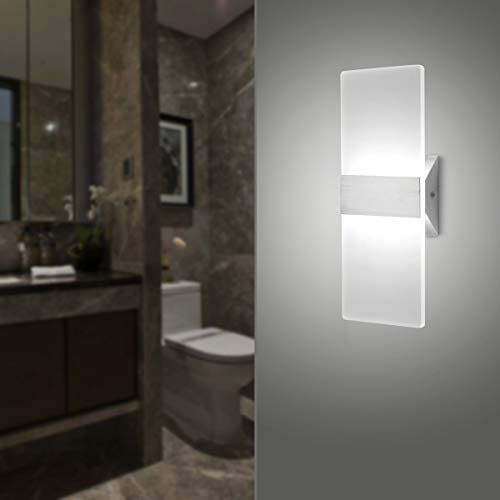tools, home improvement, lighting, ceiling fans, wall lights,  wall lamps, sconces 4 picture LED Wall Sconce Modern Wall Light Lamps 12W deals