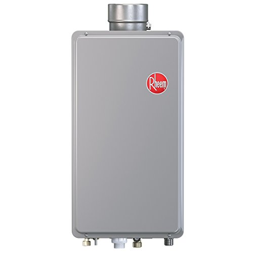 Rheem RTG-64XLP 6.4 GPM Low NOx Outdoor Tankless Propane Water Heater