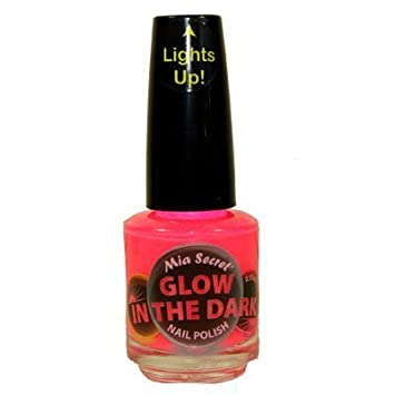 Amazon.com : Mia Secret Glow In The Dark Neon Nail Lacquer Nail ...