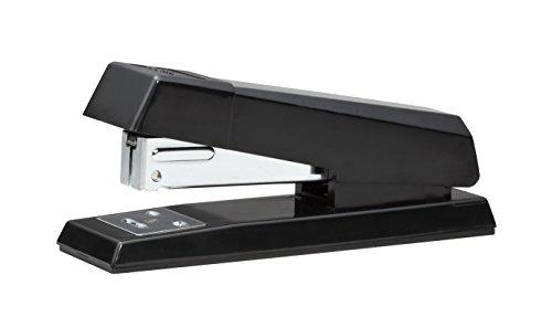 Desktop Strip Half (Bostitch No-Jam  Premium Half-Strip Desktop Stapler, 20 Sheets, Black (B600-BLACK))