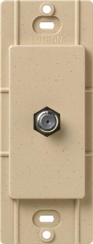 Lutron SC-CJ-DS Satin Colors Cable Jack, Desert Stone