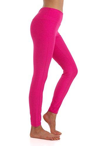 ZEROGSC Women's Yoga Pants - Workout Running Tummy Control Stretch Power Flex Stylish Long/Capris Leggings