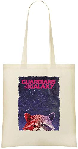 racoon Bags of Bag Grocery Use Printed 100 guardians Custom racoon gardiens Shoulder amp; galaxy la galaxie Handbag Cotton the For Eco Friendly Soft Stylish de Tote Custom Everyday XqXwCOx8p