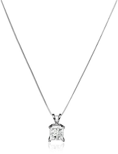 IGI-Certified-10k-White-Gold-Princess-Cut-Diamond-Pendant-Necklace-1-cttw-18