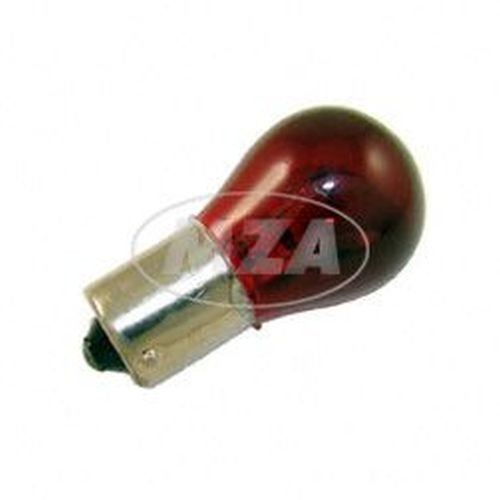 Kugellampe 12V 21W BA15s (rot) MZA Meyer-Zweiradtechnik GmbH