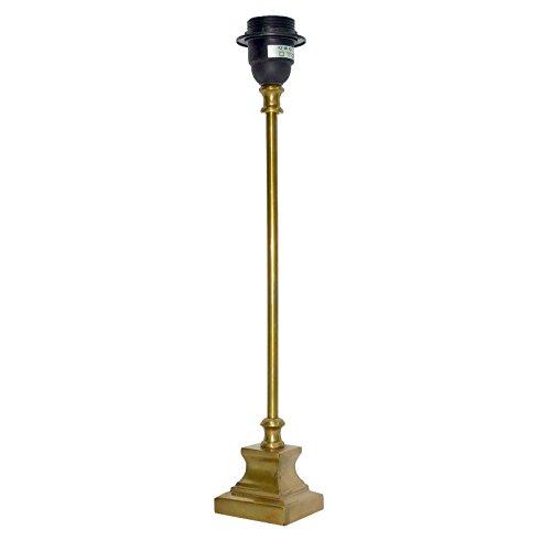 Better & Best Lámpara de mesa con pie cuadrado y tubo liso ...