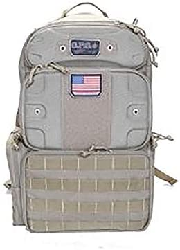 GPS Tactical Range Backpack Tall-Holds 4 Handguns