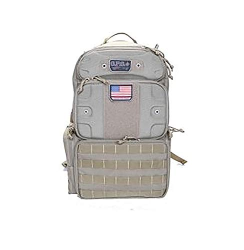 - G.P.S Tactical Range Backpack, Tall, Tan