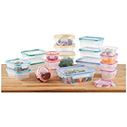 Snapware Total Solution Plastic Food Keeper Set 38pc.