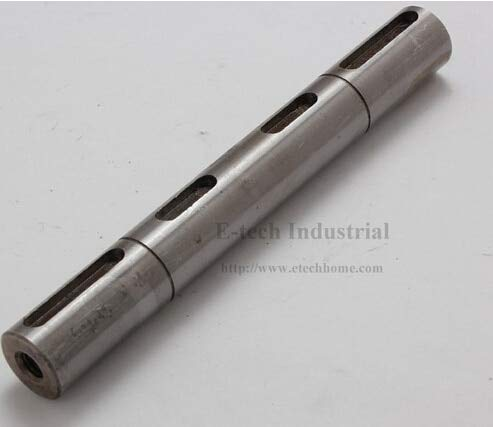 Ochoos 18mm Dual Output Shaft of Worm Reducer NMRV040 Double Shaft on Both Sides