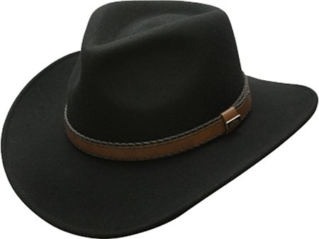 a133fde00077f Conner Hats Australian Wool Outback Crushable Water Proof Western ...