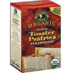 Nature's Path - Frosted Strawberry Toaster Pastry (12-11 oz boxes) - Delicious and Nutritious by Nature's Path. (Image #1)