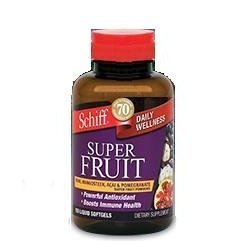 Schiff Daily Wellness Super Fruit Noni Mangosteen ACAI amp Pomegranate 150 liquid softgels Discount