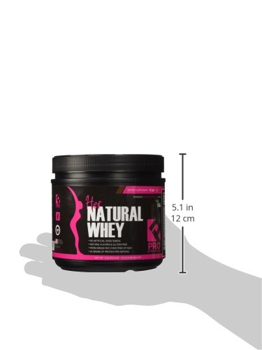 Protein Powder For Women - Her Natural Whey Protein Powder For Weight Loss & To Support Lean Muscle Mass - Low Carb - Gluten Free - rBGH Hormone Free - Naturally Sweetened with Stevia - Designed For Optimal Fat Loss (Chocolate Delight)- Net Wt. 1 LB by Pro Nutrition Labs (Image #6)
