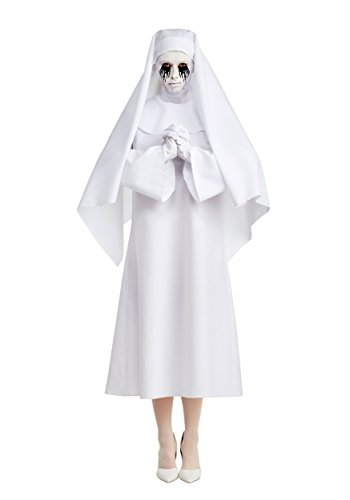 LF Products Pte. Ltd. American Horror Story The White Nun Deluxe Character Costume - -
