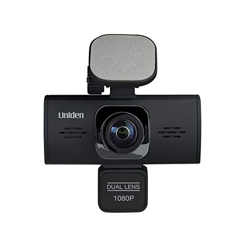 Uniden DC360 iWitness Dual-Camera Automotive Dashcam Video Recorder, G-sensor with Collision Detection and Parking mode Automatically Starts Recording