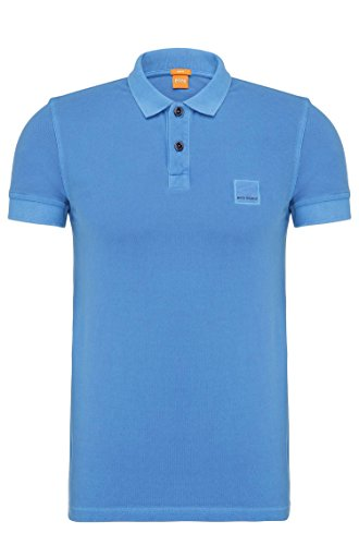 Hugo+Boss+Slim+Fit+Pascha+Polo+Shirt+%28Bright+Blue%2C+L%29