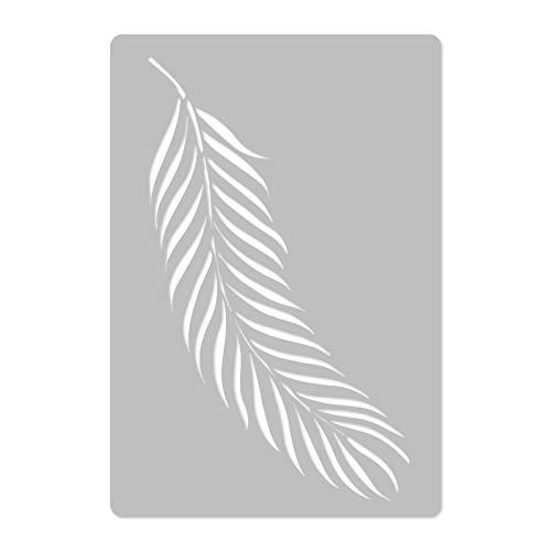 r/éutilisable Plastique mural Pochoir////45/x 65/cm////feuille de palmier # 1////Art Craft Mylar Template